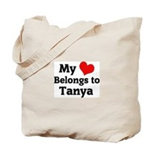 My Heart: Tanya Tote Bag