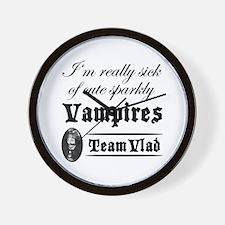 Team Vlad Wall Clock
