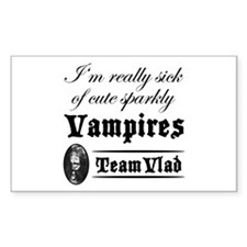 Team Vlad Rectangle Decal