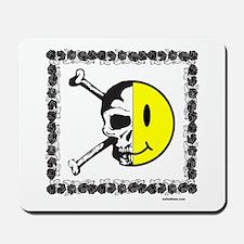 SKULL/SMILEY FACE Mousepad