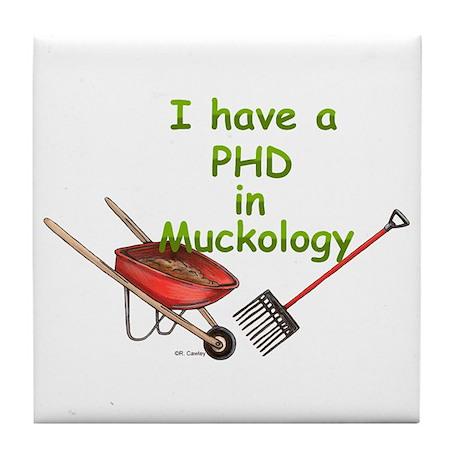 PHD Muckology Tile Coaster