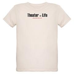 Thespian in training Organic Kids T-Shirt