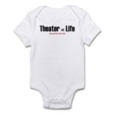 Thespian in training Infant Bodysuit