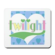 Twilight Hearts Mousepad