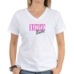 1960 Women's V-Neck T-Shirt