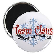 "Team Claus 2.25"" Magnet (100 pack)"