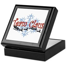 Team Claus Keepsake Box