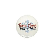 Team Claus Mini Button (10 pack)