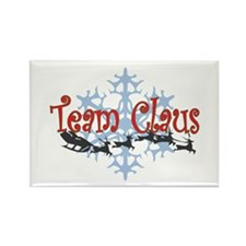 Team Claus Rectangle Magnet