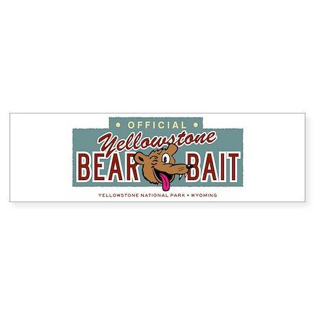 Yellowstone Bear Bait Sticker (Bumper 10 pk)