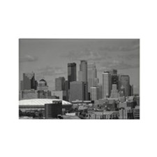 Minneapolis Skyline Rectangle Magnet (10 pack)