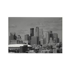 Minneapolis Skyline Rectangle Magnet