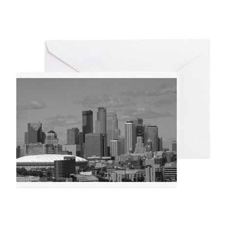 Minneapolis Skyline Greeting Cards (Pk of 10)