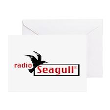 Radio Seagull Greeting Cards