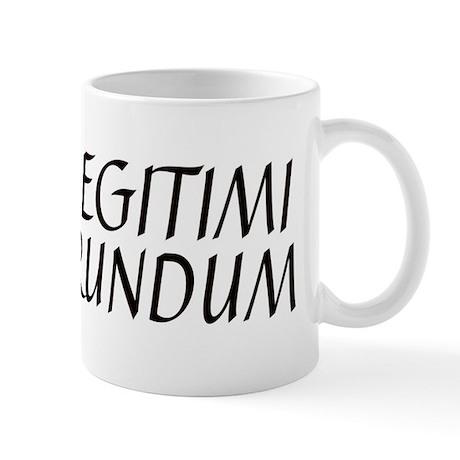 illegitimi Mug