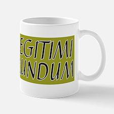 illegitimi Small Mugs
