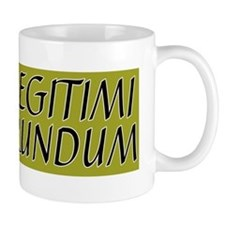 illegitimi Small Mugs