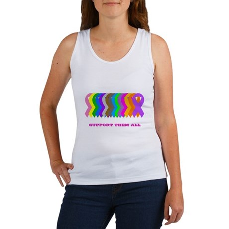 Support them all Women's Tank Top