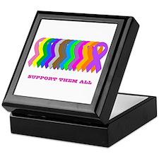Support them all Keepsake Box