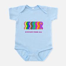 Support them all Infant Bodysuit