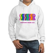 Support them all Hoodie