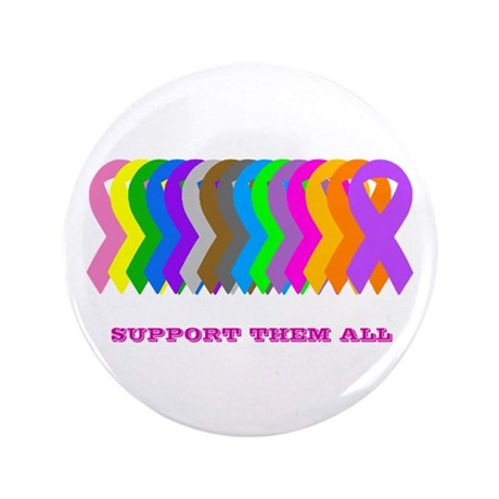 """Support them all 3.5"""" Button (100 pack)"""
