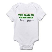 War On Christmas Infant Creeper
