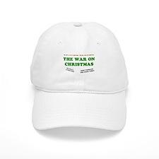 War On Christmas Baseball Cap