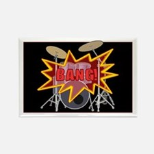 Bang Drumset! Rectangle Magnet