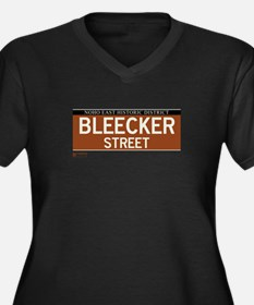Bleecker Street in NY Women's Plus Size V-Neck Dar