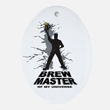 Home Brew Master Oval Ornament