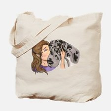 NMrl Cheek Kiss Tote Bag