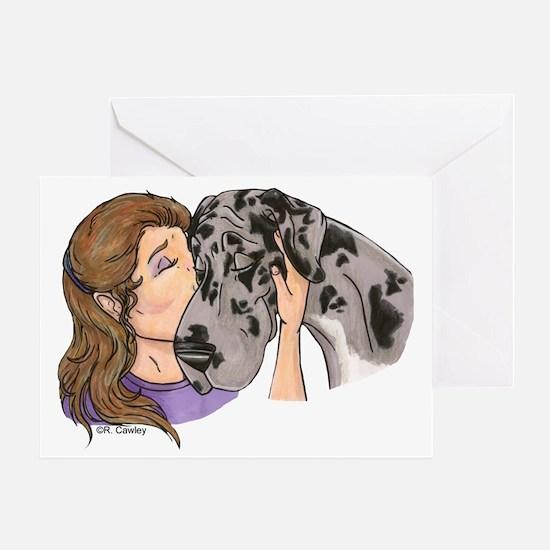 NMrl Cheek Kiss Greeting Card