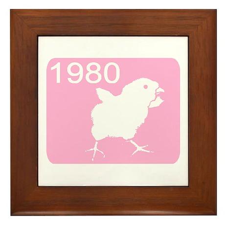 1980 Framed Tile
