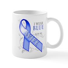 I Wear Blue for my Wife Mug