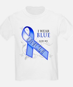 I Wear Blue for my Uncle T-Shirt