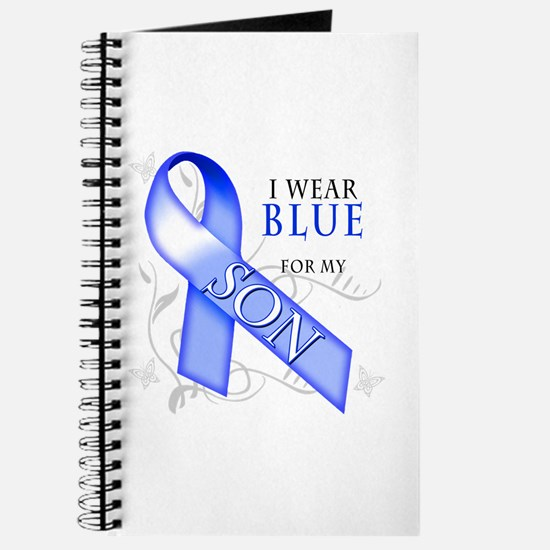 I Wear Blue for my Son Journal