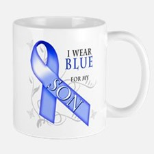 I Wear Blue for my Son Mug