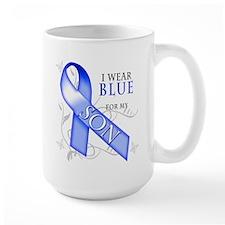 I Wear Blue for my Son Mug