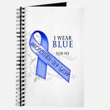 I Wear Blue for my Mother-In-Law Journal