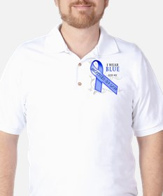 I Wear Blue for my Mother-In-Law Golf Shirt