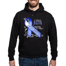 I Wear Blue for my Mom Hoodie