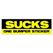 Obama Sucks Part 2 Bumper Bumper Sticker