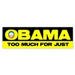 Obama Sucks Part 1 Bumper Sticker