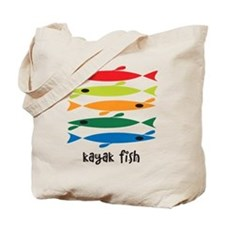 Cute Kayak fishing Tote Bag