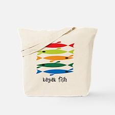 Cute Kayak fishing Tote Bag