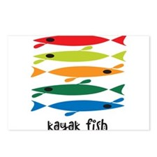 Unique Kayak Postcards (Package of 8)