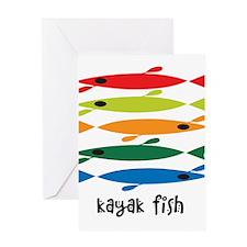 kayaklogo3 Greeting Cards