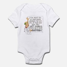 If the RIGHT side of your bra Infant Bodysuit