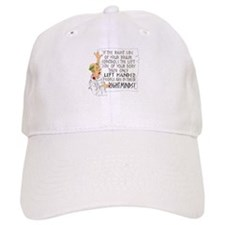 If the RIGHT side of your bra Baseball Cap